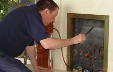 servicing fire